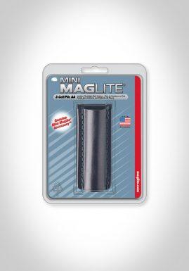 Mini Mag-Lite AA Leather Holster