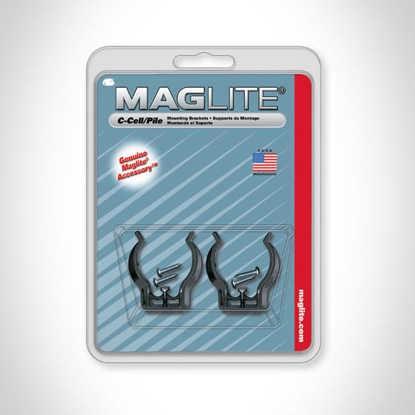 Mag-Lite C-cell Mounting Brackets