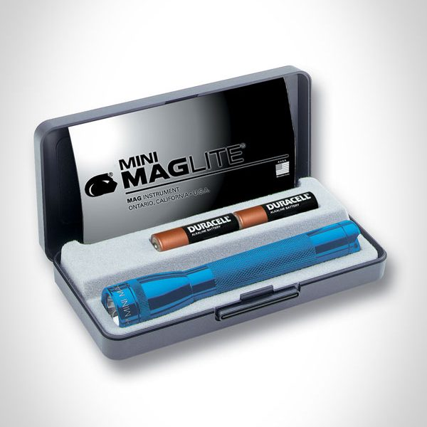 Mini Mag-Lite AA Flashlight with Gift Box