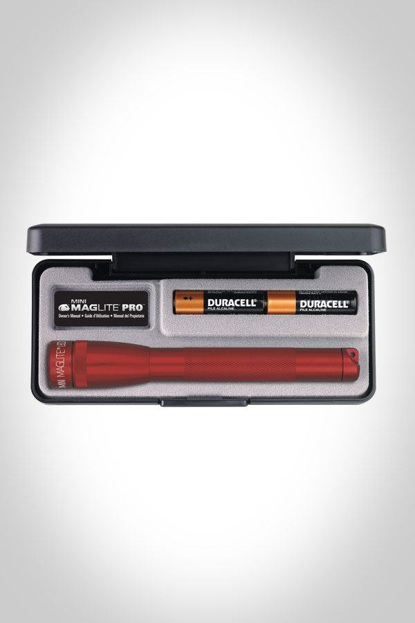 Mini Mag Pro AA Flashlight with Gift Box