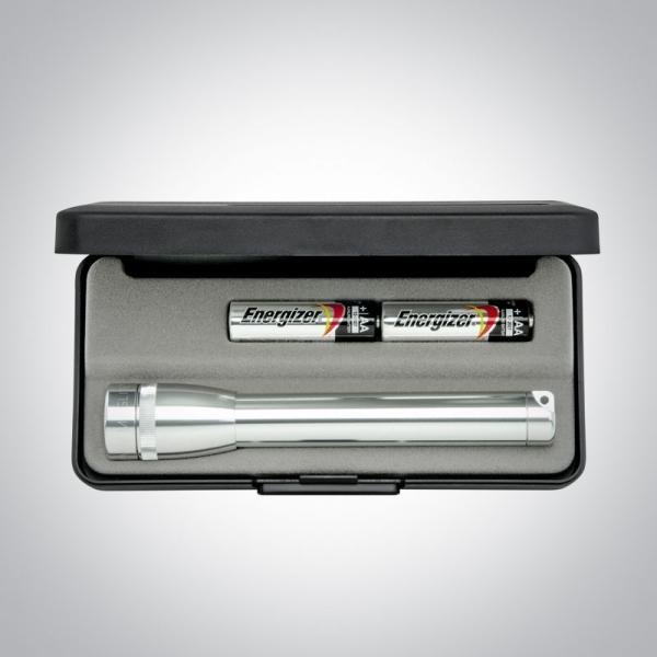 Corporate Gift Silver Flashlight